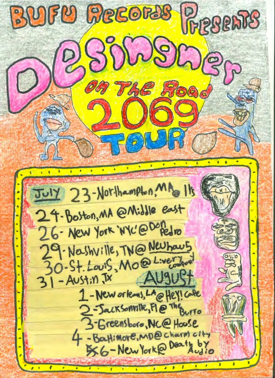 designer poster tour